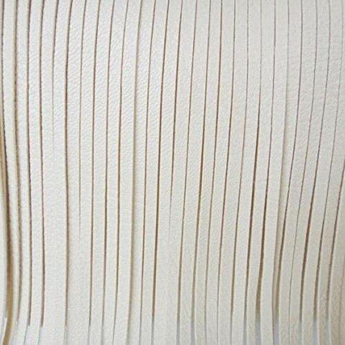 Sanwood, Borsa a spalla donna Nero  Type 5 Taglia unica White