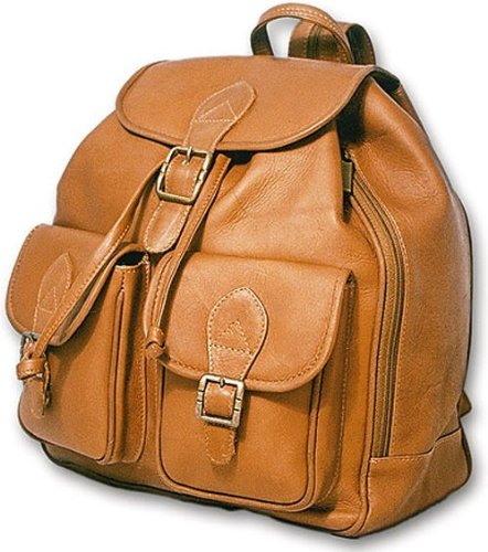 david-king-co-double-front-pocket-backpack-tan-one-size