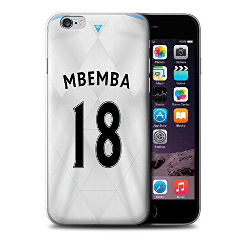 Offiziell Newcastle United FC Hülle / Case für Apple iPhone 6S / Lascelles Muster / NUFC Trikot Away 15/16 Kollektion Mbemba