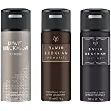 David Beckham Beyond Intimately Instinct Deodorant Spray - For Men (450 Ml, Pack Of 3)