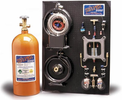 NOS 07001 Sniper Nitrous System Holley 4-BBL
