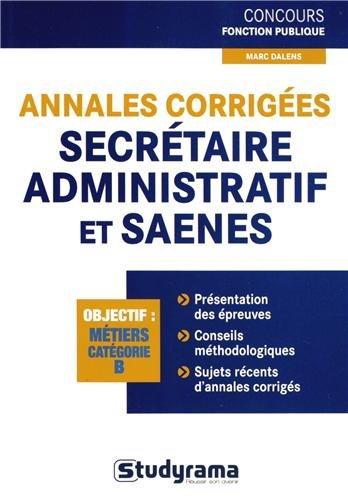 annales-corriges-secrtaire-administratif-et-saenes