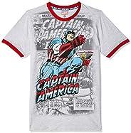 Captain America By Kidsville Regular fit Boy Tshirt
