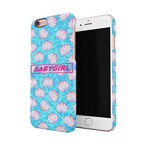 100% Organic Boy Tears Pack Pattern Dünne Rückschale aus Hartplastik für iPhone 6 & iPhone 6s Handy Hülle Schutzhülle Slim Fit Case cover Babygirl