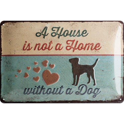 Nostalgic-Art 22269, Cartel de huellas–A house IS NOT a Home, Ca
