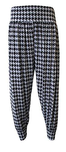 WearAll - Grande taille uni pantalons harem pants - Pantalons - Femmes - Tailles 40 à 54 Dogtooth