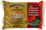 Brunswick Canadian Style Sardines in Tomato Sauce 106 g (Pack of 12)