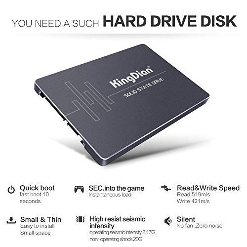 KingDian 2,5 Zoll SATA III SATA II interne SSD (S280 480GB)