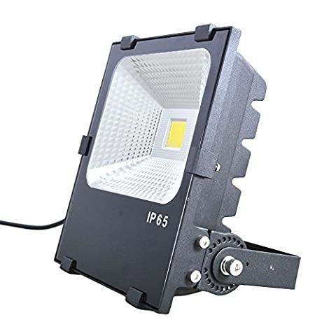 XYD Super Bright Outdoor LED Flood Lights,10W-200W Available,Security Lights, Waterproof,Integrated Security Spotlights Energy Saving Lamp [Energy Class A+]TGD-0s (10W, Warm white(2800-3200K))