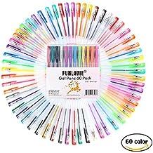 Stylos Billes à Encre Gel Multicolores pour Livre de Coloriage, Dessin, Coloration, Griffonnage et Croquis Lot de 60 Vente par FUNLAVIE