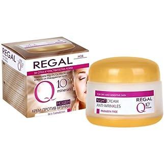 Regal Q10+ – Crema de Noche Antiarrugas Piel Seca y Sensible
