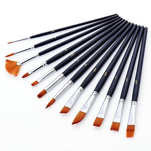 ciaoed-12-pezzi-nylon-di-pennelli-acquerello-e-pittura-ad-olio