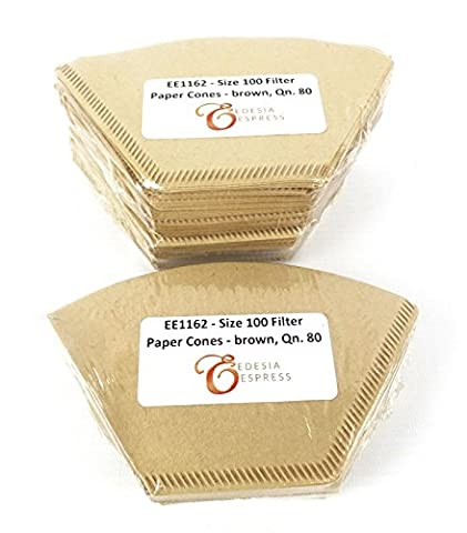 EDESIA ESPRESS - 240 filtres à café coniques - en papier non blanchi - pour Melitta Aromaboy - taille 100