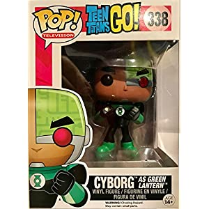 Figura POP Teen Titans Go Cyborg as Green Lantern Exclusive