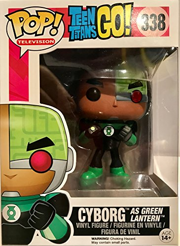 Funko - Figurine Dc Comics - Teen Titans Go ! - Cyborg As Green Lanter