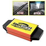 #3: iTimo Wiper Cleaning Brush Car Windshield Wiper Wizard Blade Restorer with 5Pcs Wizard Wipes for Windscreen Cleaner