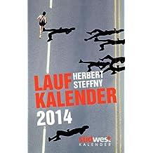Herbert Steffny's Laufkalender 2014 Taschenkalender
