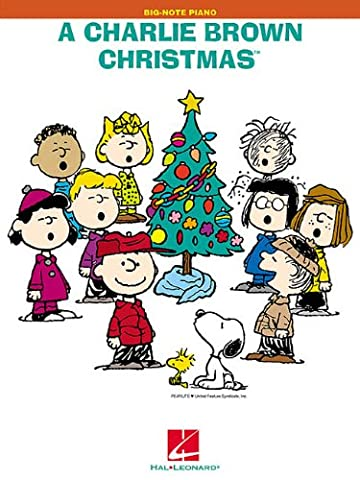 A Charlie Brown Christmas: Big-Note Piano
