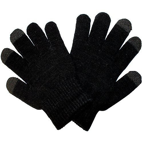 CostMad TM Etouch Touchies Bildschirm Kapazitive Stylus LCD-Handschuhe Smart Mobile Phone Winter Kälte weiche warme Snug Magie Gripper Handschuhe berühren - Universal Unisex Mann Damen Kinder Einheitsgröße - für Arbeiten an allen Touch-Screen-Geräten (Stylus Lcd)