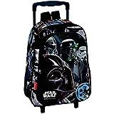 Paxos 53585 Sac à dos à roulettes maternelle - Star wars