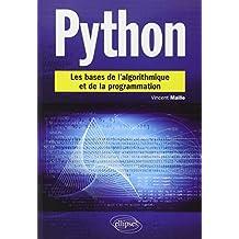 Python les Bases de l'Algorithmique et de la Programmation