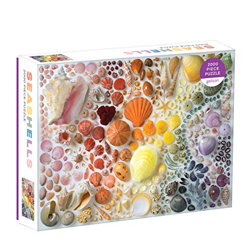 Rainbow Seashells 2000 Piece Puzzle por Galison