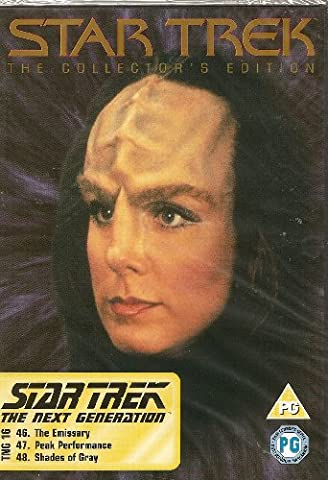 Star Trek - The Collector's Edition - TNG 16 - The Emissary, Peak Performance, Shades Of Gray