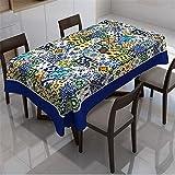 SONGHJ Table en Coton Polyester Imprimé Table Nappe de Table Tapis de fête Décoration de Table Housse de Table Maison Nappe...