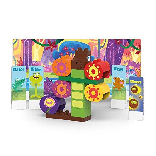 BIOBUDDI Swampies BB-0146 Juguete de construcción - Juguetes de construcción (Juego de construcción, Multicolor, 1,5 año(s), 28 Pieza(s), Niño/niña, Niños)