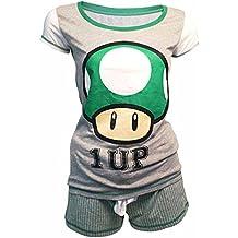 Nintendo Shortama (Damen) -XL- Mushroom 1 Up