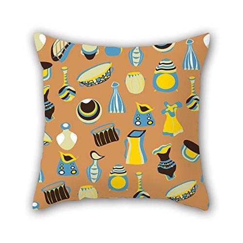 niceplw pillowcover de Colorful Geometría 20x 20pulgadas/50por 50cm, el mejor ajuste para...