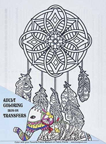 Giraffe Crafts 28114 Dreamcatcher Coloring Transfer, 9