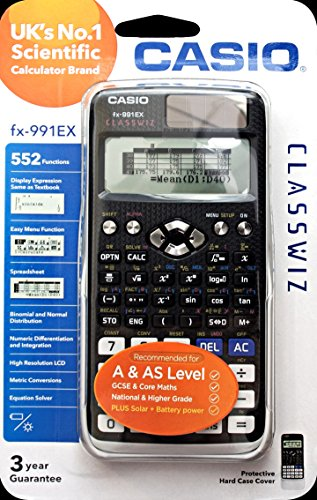 serieClasswiz Calcolatrice scientifica con 552funzioni Casio fx-991EX