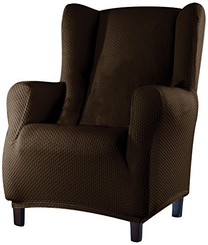 Sucre Sofa Überwurf Ohrensessel Fb. 07-braun