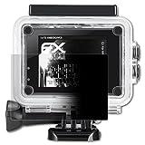 atFoliX Blickschutzfilter für IceFox Action Cam 4k I5 Blickschutzfolie - FX-Undercover 4-Wege Sichtschutz Displayschutzfolie