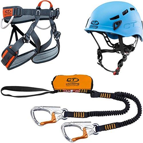 Climbing Technology Eclipse Plus 2K132cdabboctst Kit Ferrata, multicolor, talla única