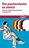Des psychanalystes en séance par Danon-Boileau
