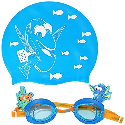 alles-meine.de GmbH 2 tlg. Set _ Badehaube & Schwimmbrille / Taucherbrille / Chlorbrille -  Finde..