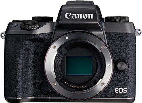 Canon EOS M5 Systemkamera (24,2 Megapixel, APS-C CMOS-Sensor, WiFi, NFC, Full-HD) inkl. gratis EF-EOS M Adapter