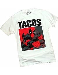 Tacos -- Deadpool -- X-Men -- Marvel Comics T-Shirt