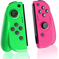 TUTUO Wireless Joy-Con Controller (L/R) for Nintendo Switch, Replacement Joystick for Joy Con Bluetooth Gamepad Joypad Joystick Compatible with Nintendo Switch Pro