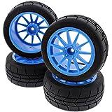 HPI 1/8 Ken Block WR8 3.0 Fiesta GYMKHANA TIRES, BLUE SPEEDLINE WHEELS 12mm HEX by HPI