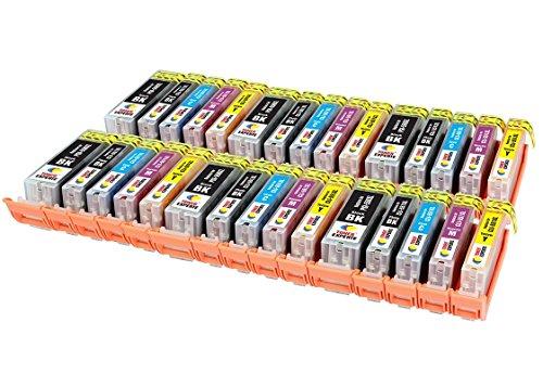 PGI-550XL CLI-551XL TONER EXPERTE® 30 XL Cartuchos de Tinta compatibles para Canon PIXMA iP7250 iP8750 iX6850 MX925 MX725 MG5650 MG6350 MG6450 MG6650 MG5550 MG5450 MG7150 MG7550 | Alta Capacidad