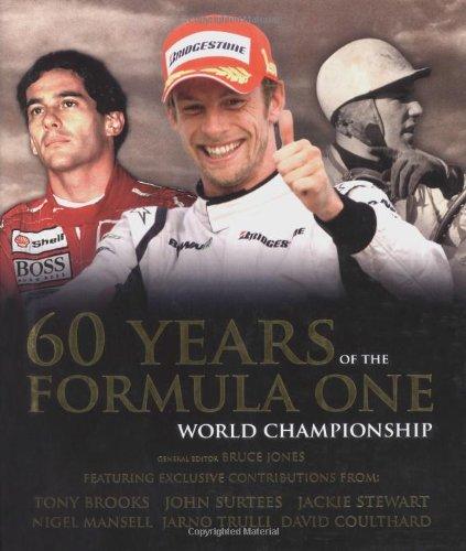 60 Years of the Formula One Championship por Bruce Jones