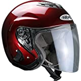 Motorradhelm Nexo Jethelm Travel Bordeaux XL