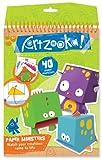 Artzooka - Juego creativo de monstruos con papel