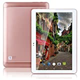 Hot 4G LTE 10.1 inch Tablet Octa Core 2560*1600 IPS RAM 4GB ROM 64GB 4G Dual sim card Phone Call Tablets PC Android 6.0 GPS electronics Dual camera 7 9 10 Rose gold
