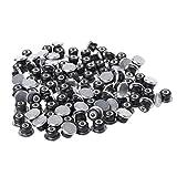 Rungao 50 Stück Auto-Reifen, rutschfeste Hülsen, Schrauben für Spikes, Rad, Winterschutz