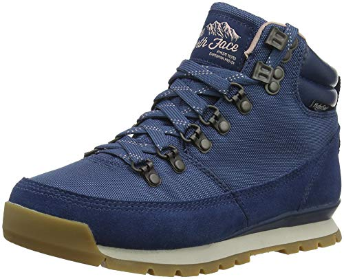 THE NORTH FACE Damen Back-to-Berkeley Redux Trekking- & Wanderstiefel, Blau (Blue Wing Teal/Misty Rose 5sn), 38.5 EU (Damen Stiefel North The Face)