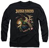 Judge Dredd - Souffle hommes Loin T-shirt à manches longues de, XX-Large, Black